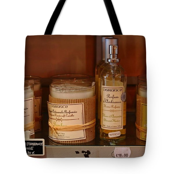 Tote Bag featuring the photograph French Scent by Richard Patmore