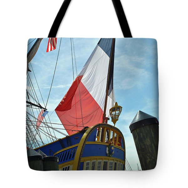 French Stern Tote Bag
