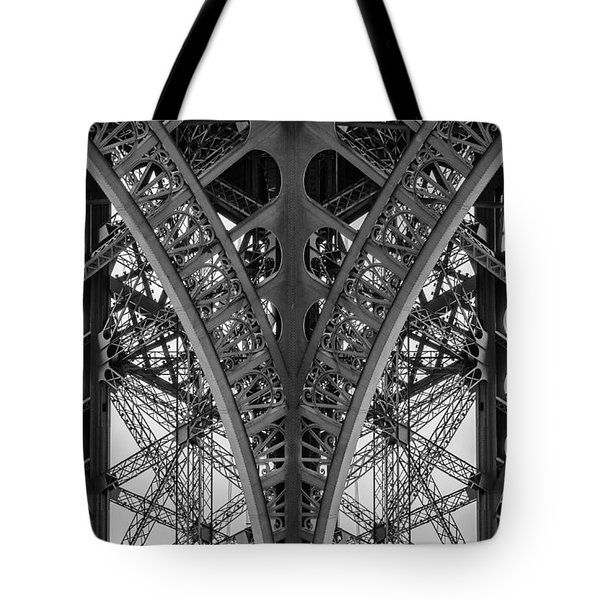 French Symmetry Tote Bag