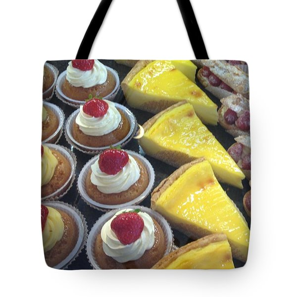 Tote Bag featuring the photograph French Temptation by Therese Alcorn