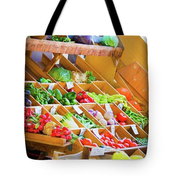 French Vegetable Market 2 Tote Bag