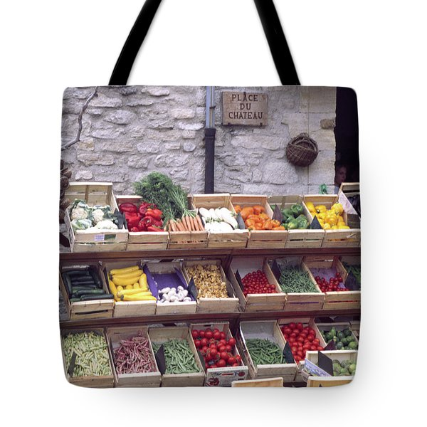 French Vegetable Stand Tote Bag