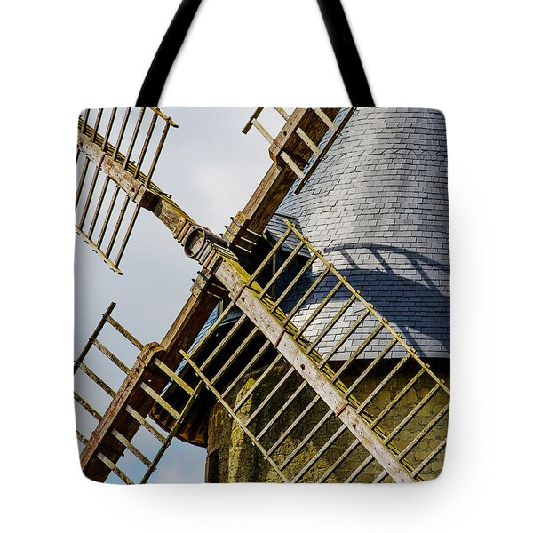 French Windmill Tote Bag