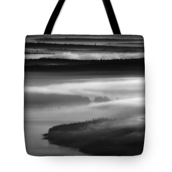Frenchman's Bay Recursion Tote Bag