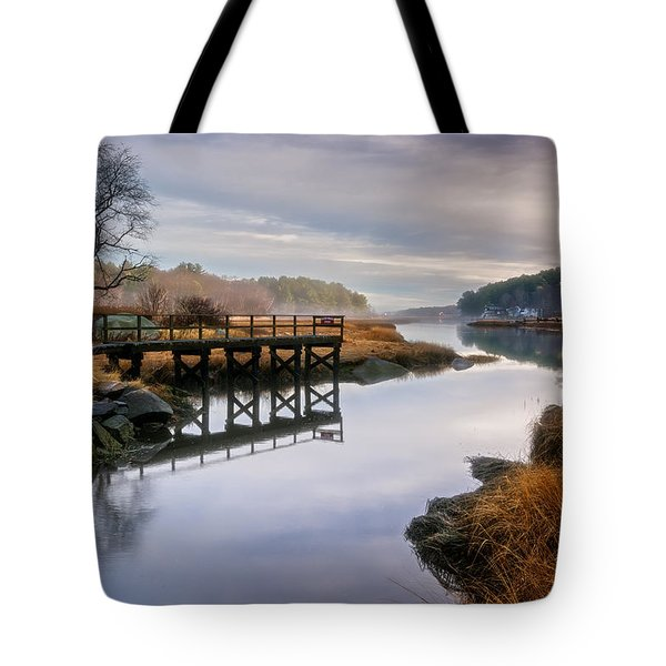 Frenchman's Pier Gloucester Tote Bag