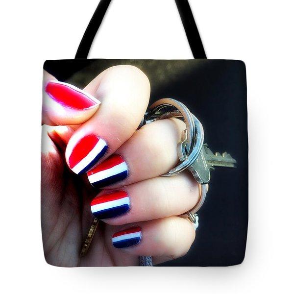 Frenchy Nails Tote Bag