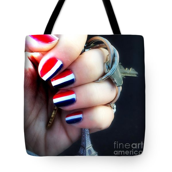 Tote Bag featuring the photograph Frenchy Nails by Helge