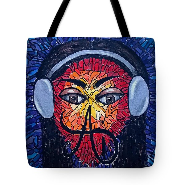 Frequencial - Abstract Art Music Painting - Ai P.nilson Tote Bag