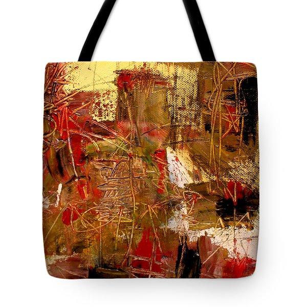 Frequency Tote Bag by Jody Scott Olson