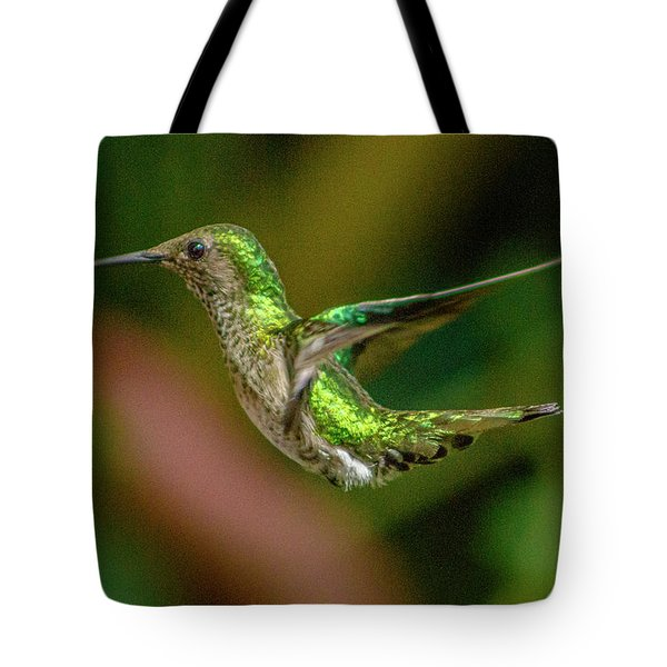 Frequent Flyer 2, Mindo Cloud Forest, Ecuador Tote Bag
