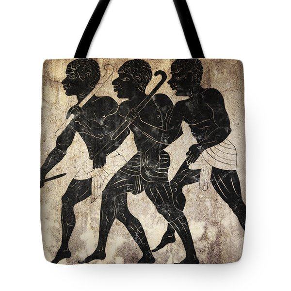 Fresco - Hunters Tote Bag by Michal Boubin