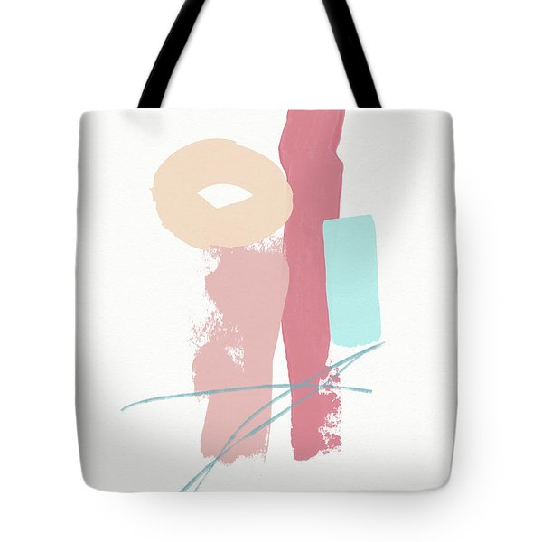 Fresh Abstract 1- Art By Linda Woods Tote Bag