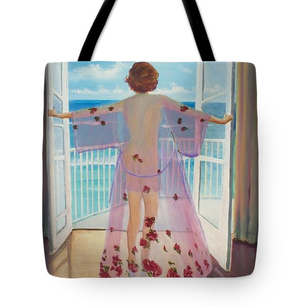Fresh Air Tote Bag by Marcel Quesnel