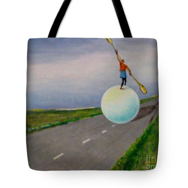 Fresh Air Tote Bag by Ushangi Kumelashvili