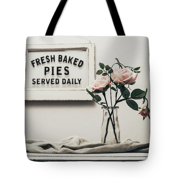 Fresh Baked Tote Bag by Kim Hojnacki
