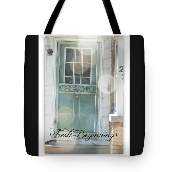 Fresh Beginnings Tote Bag