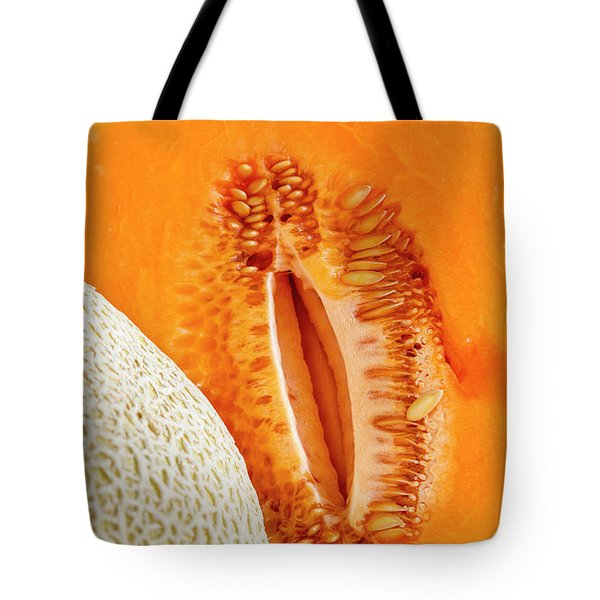 Fresh Cantaloupe Melon Tote Bag