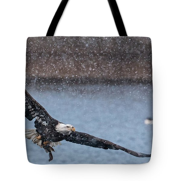 Fresh Catch Tote Bag by Kelly Marquardt