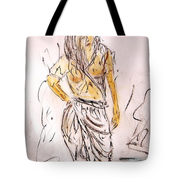 Fresh Dip Tote Bag by Piety Dsilva
