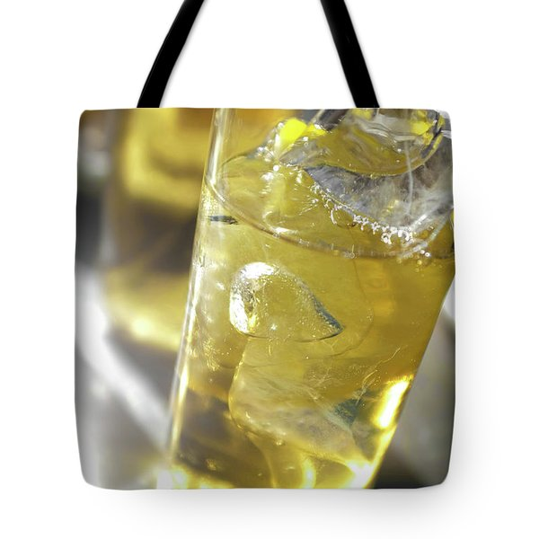 Tote Bag featuring the photograph Fresh Drink With Lemon by Carlos Caetano