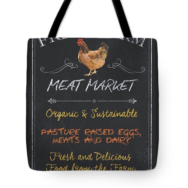 Fresh Farm Meat Tote Bag