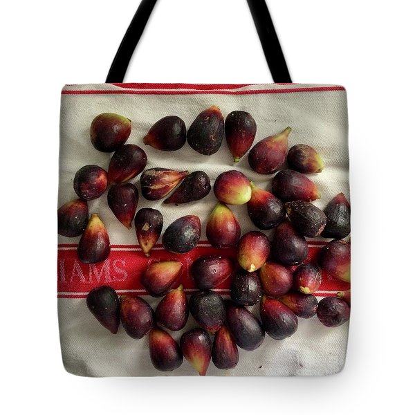 Tote Bag featuring the photograph Fresh Figs by Kim Nelson