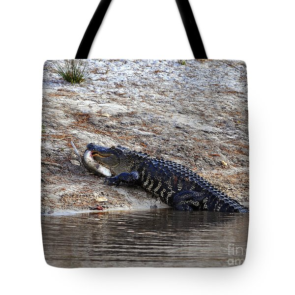 Tote Bag featuring the photograph Fresh Fish by Al Powell Photography USA