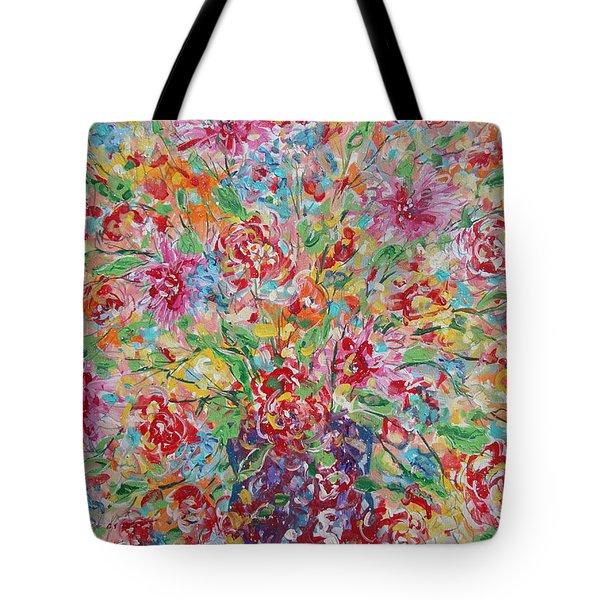 Fresh Flowers. Tote Bag