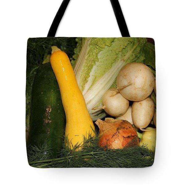 Fresh Garden Produce Tote Bag