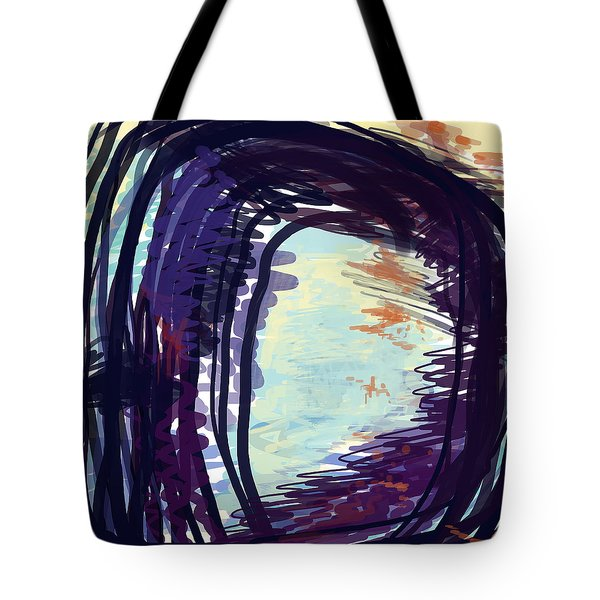 Fresh Lines Tote Bag