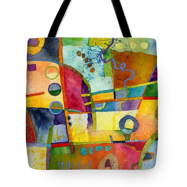 Tote Bag featuring the painting Fresh Paint by Hailey E Herrera