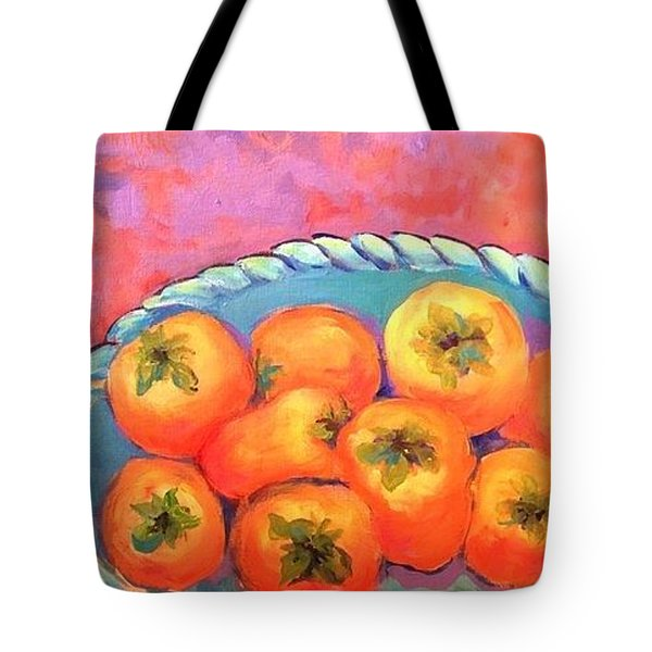 Fresh Persimmons Tote Bag
