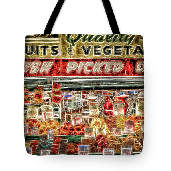 Fresh Picked Daily Tote Bag by Spencer McDonald
