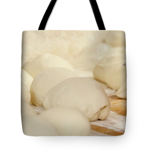 Fresh Pizza Dough Tote Bag