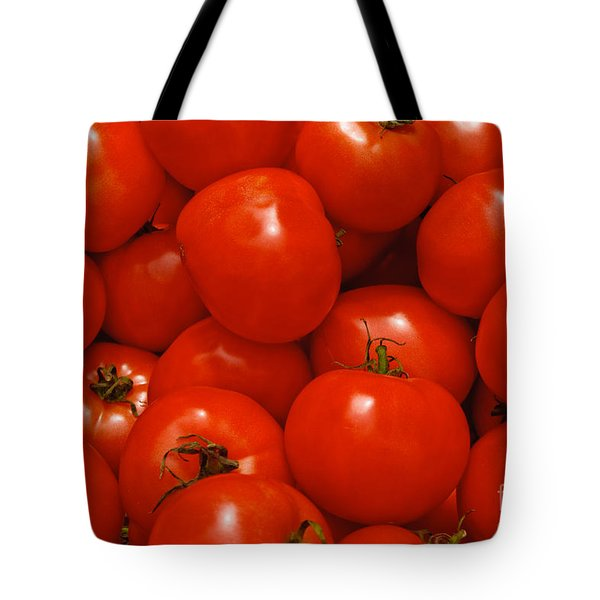 Fresh Red Tomatoes Tote Bag by Thomas Marchessault