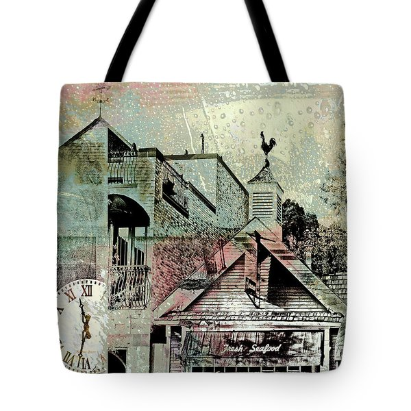 Tote Bag featuring the photograph Fresh Seafood by Susan Stone