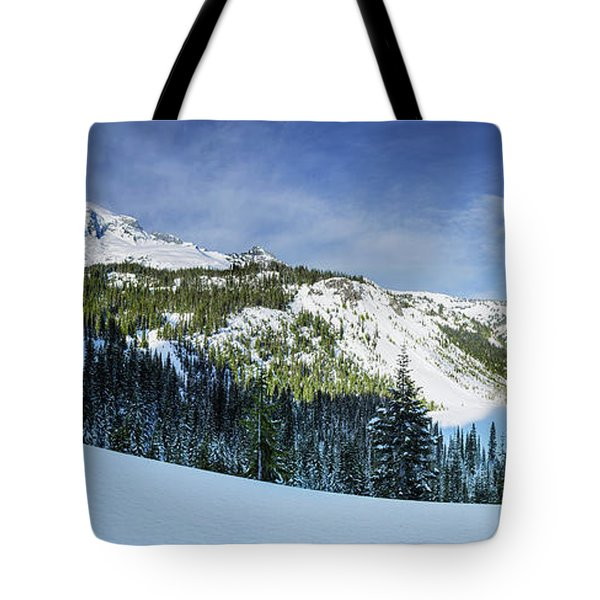 Fresh Snow At Mount Rainier Tote Bag
