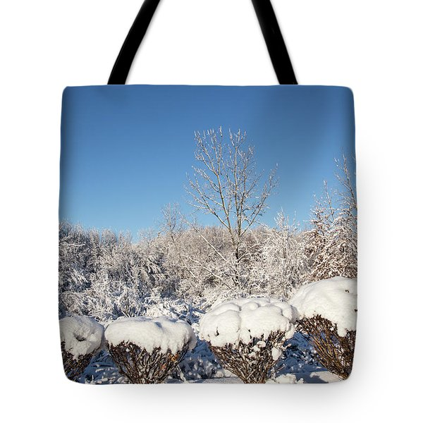 Fresh Snowfall Tote Bag