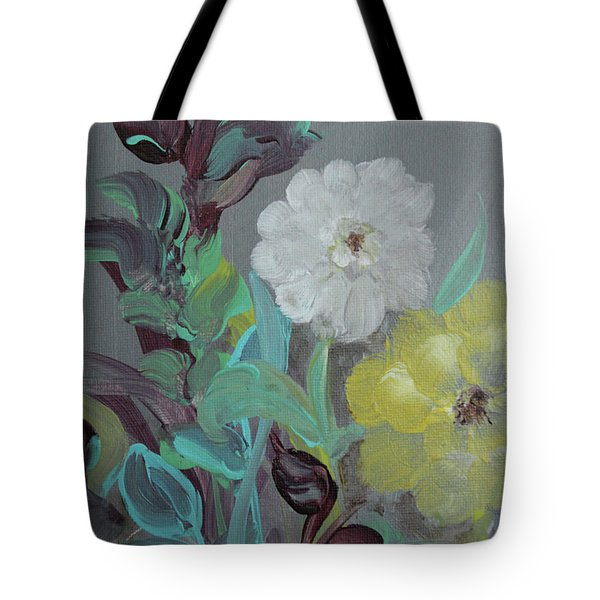 Tote Bag featuring the painting Fresh Start  by Robin Maria Pedrero