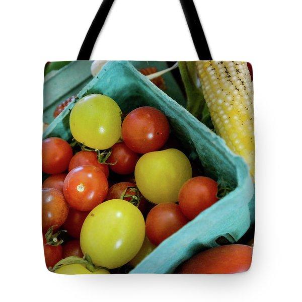 Fresh Tomatoes Tote Bag
