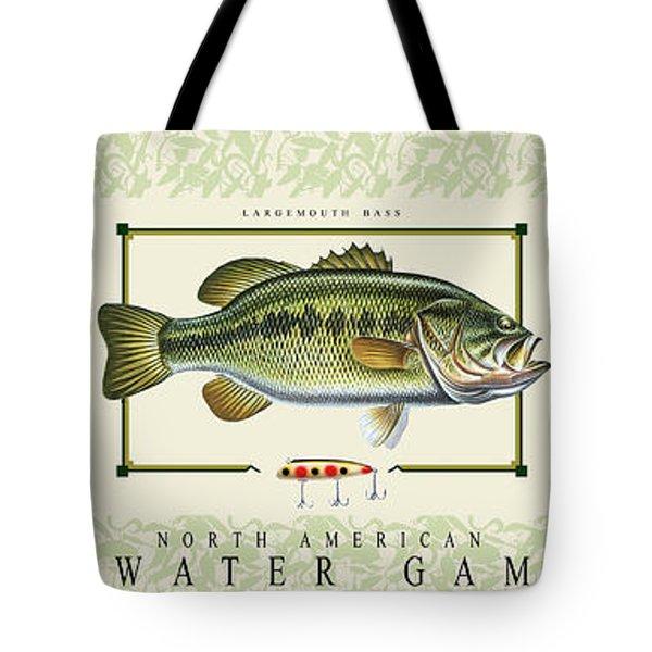 Freshwater Gamefish Tote Bag