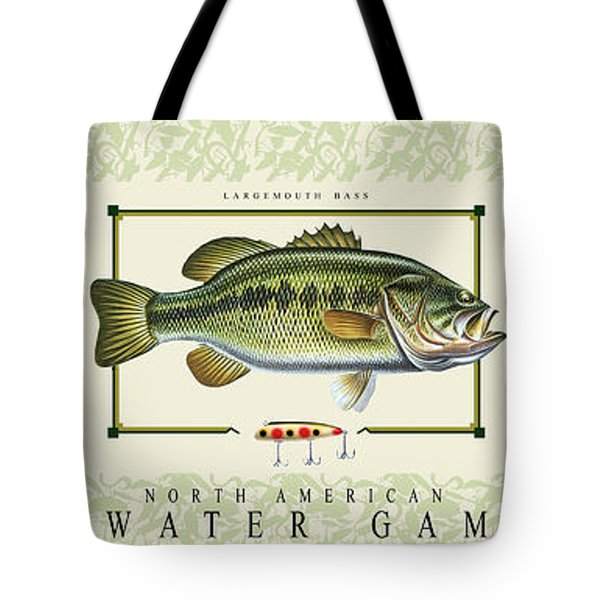 Freshwater Gamefish Tote Bag