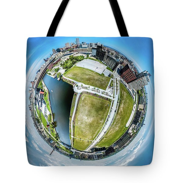 Freshwater Way Little Planet Tote Bag