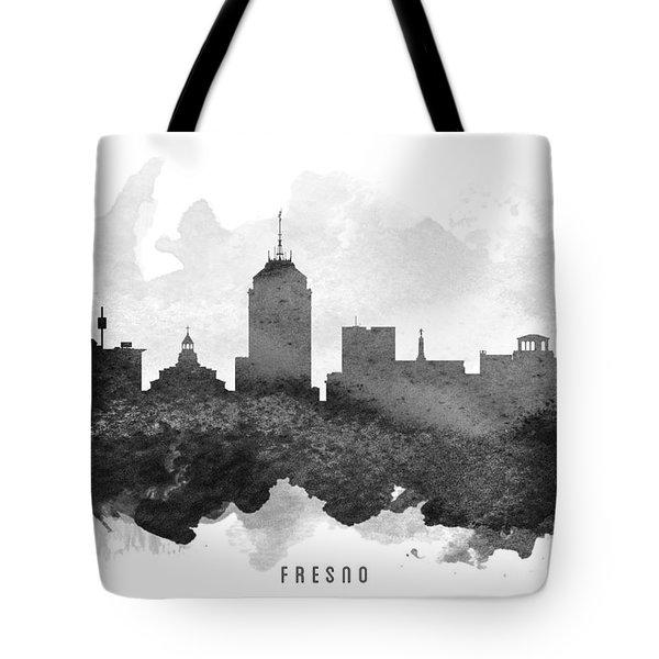 Fresno Cityscape 11 Tote Bag