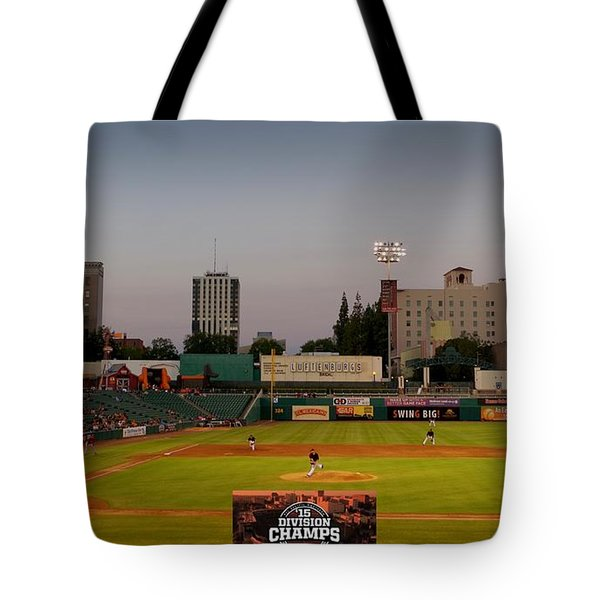 Fresno Grizzlies Tote Bag