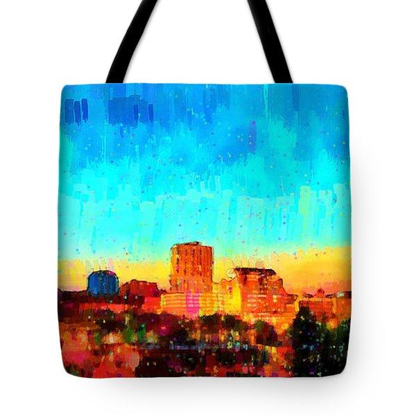 Fresno Skyline 100 - Pa Tote Bag