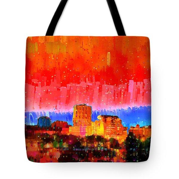 Fresno Skyline 101 - Da Tote Bag