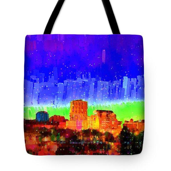 Fresno Skyline 102 - Da Tote Bag