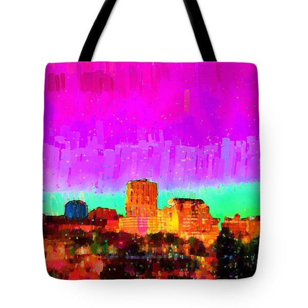 Fresno Skyline 103 - Da Tote Bag