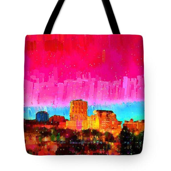 Fresno Skyline 104 - Da Tote Bag